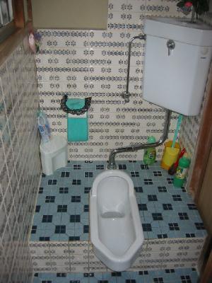 定番!和式トイレを洋式にリフォーム!