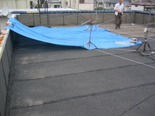 陸屋根防水工事