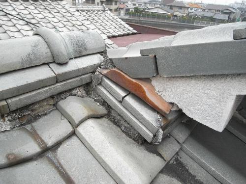 屋根瓦のメンテナンス