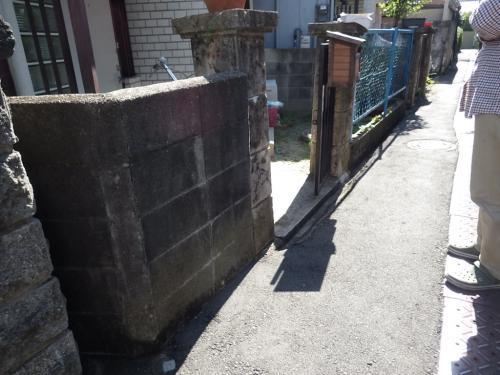門扉と塀のリフォーム~