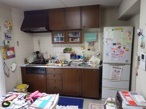 キッチンリフォーム~真っ白なシステムキッチン~