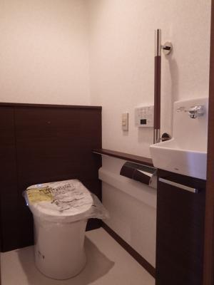 システムトイレで高級感のあるトイレに変身