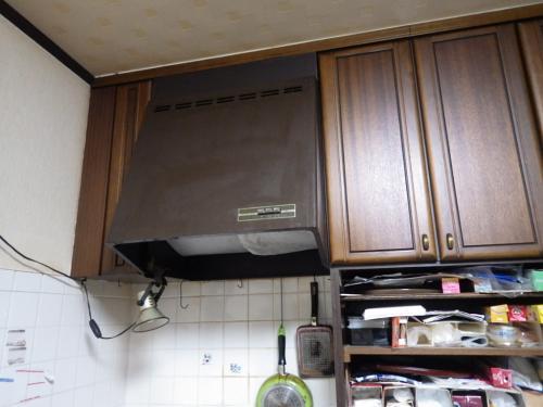 台所換気扇のプチリフォーム~フィルターなしでお手入れ簡単~