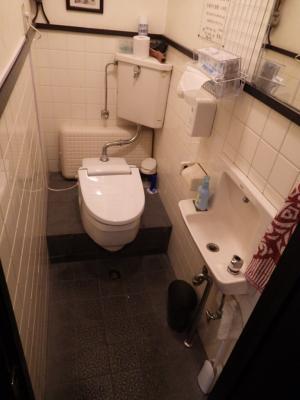 飲食店でトイレをリフォームしました