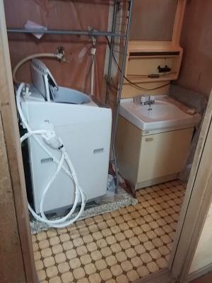 洗面所リフォーム 使い勝手を考えたレイアウトに