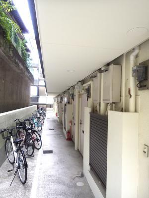 築年数の古い学生向けマンションの外観が悪いのをなんとかする③
