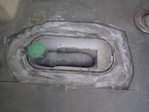 排水管をセット
