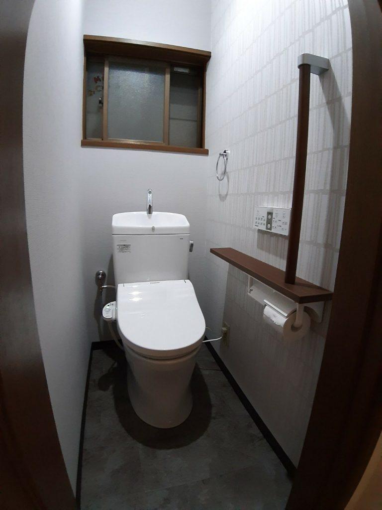 大阪市淀川区でトイレのリフォーム TOTO